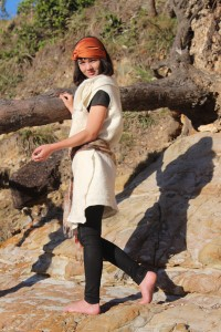 Felted garment- vest or dress versatile flexible size